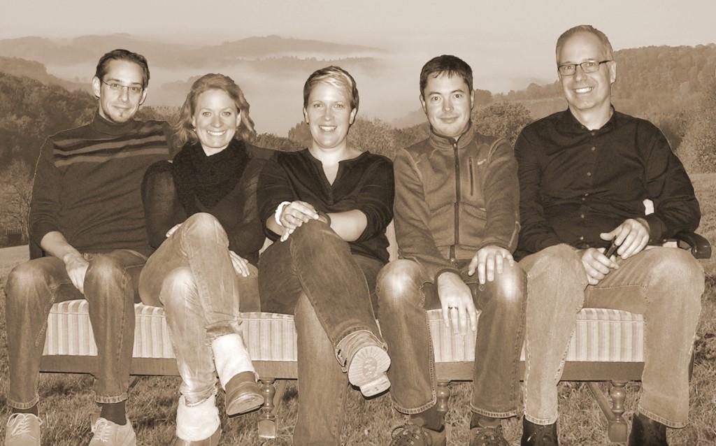 SOULmate sind: Michael, Jutta, Geli, Frank, Achim